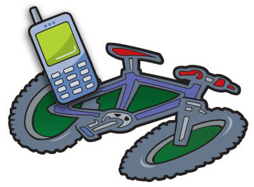 Home Safe Bicycle and Cellphone